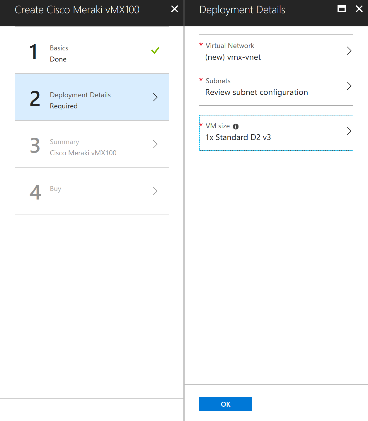 Azure Site to Site VPN with Cisco Meraki vMX100 - Eric's